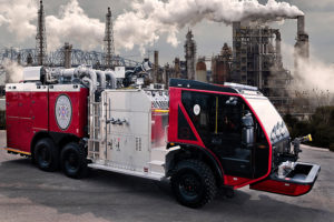 TITAN custom built 6×6 chassis for Industrial Fire-Fighting Applications